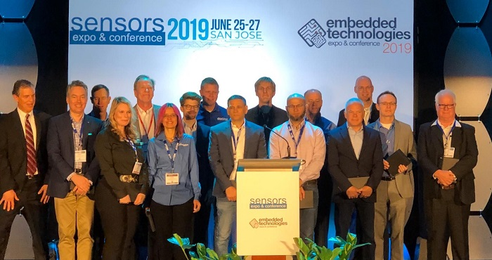 ams Bags 'Best of Sensors Innovation' & 'Best Engineering Team