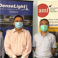 AMF, DenseLight Semiconductors to Jointly Develop Silicon Photonics Solutions with Integrated InP Lasers